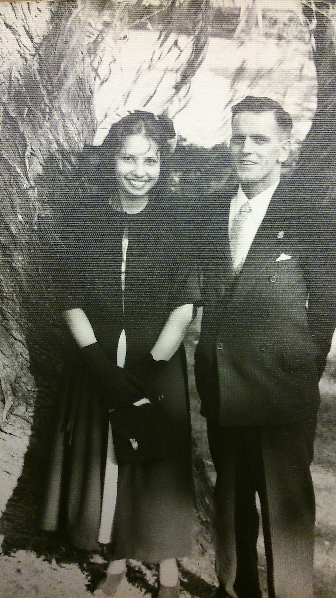 Photo of Des and Donald Stuart