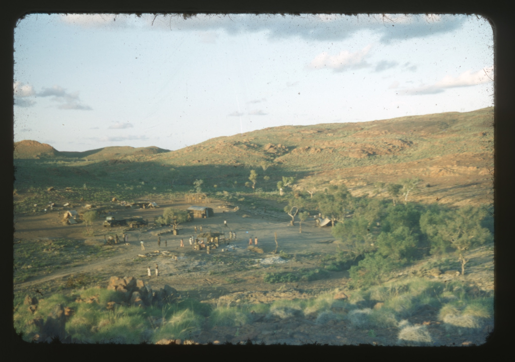 Native Mining Camp at Pilgangoora 1953